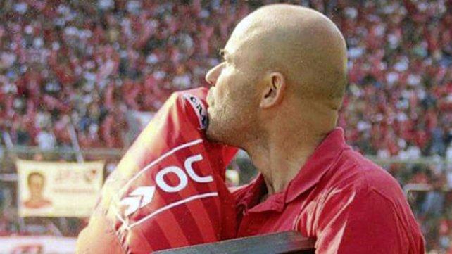 Sacheri es un fiel hincha de Independiente.