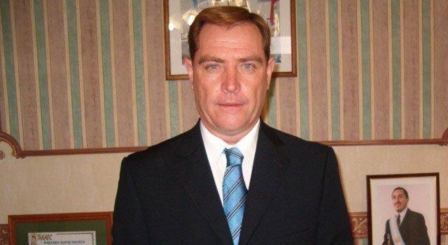 Coppari, el presidente comunal de Los Cardos que fue detenido hoy.