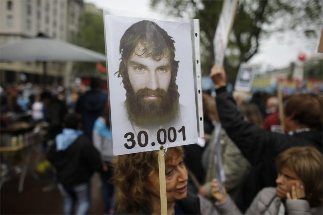 <b>30.001. </b>Con carteles y pancartas, se realizó una multitudinaria movilización por Maldonado.